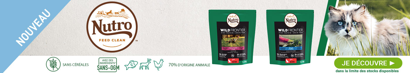 Nutro Wild Frontier pour chat