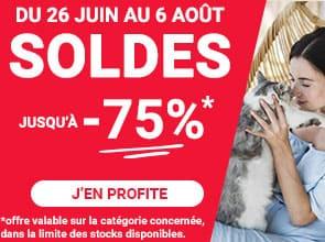Soldes été : jusqu'à -75% pour votre chat
