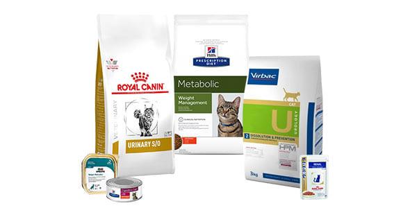 Alimentation vétérinaire pour chat