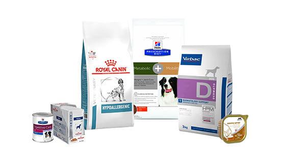 Alimentation vétérinaire pour chien