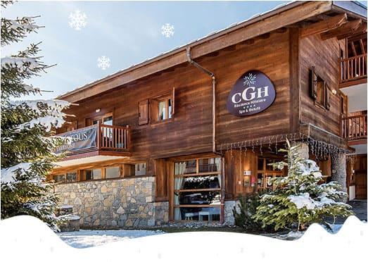 un séjour à la montagne avec CGH