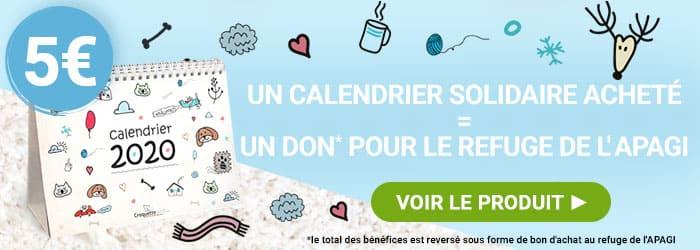 Découvrez le calendrier Solidaire 2020 Croquetteland