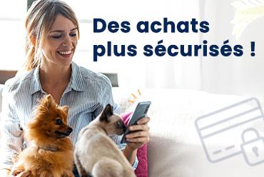Des achats plus sécurisés sur croquetteland.com