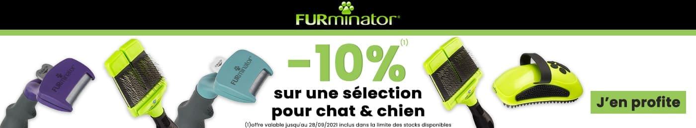 20% de remise sur une sélection FURMINATOR