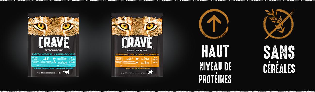 Alimentation pour chat - CRAVE