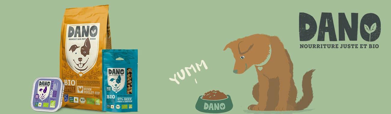 Alimentation pour chien - DANO