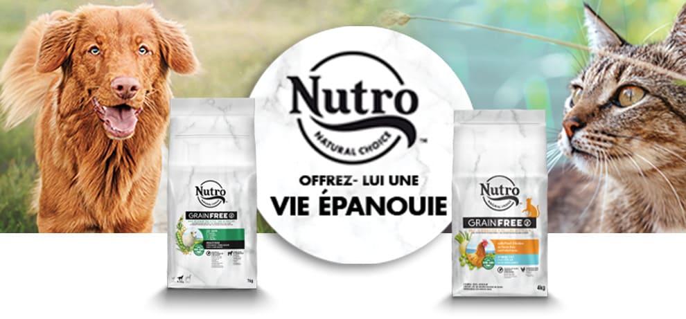 Nutro pour chien et pour chat
