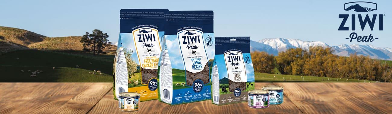 Alimentation sans céréales pour chat - ZiwiPeak