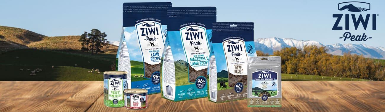 Alimentation sans céréales pour chien - ZiwiPeak