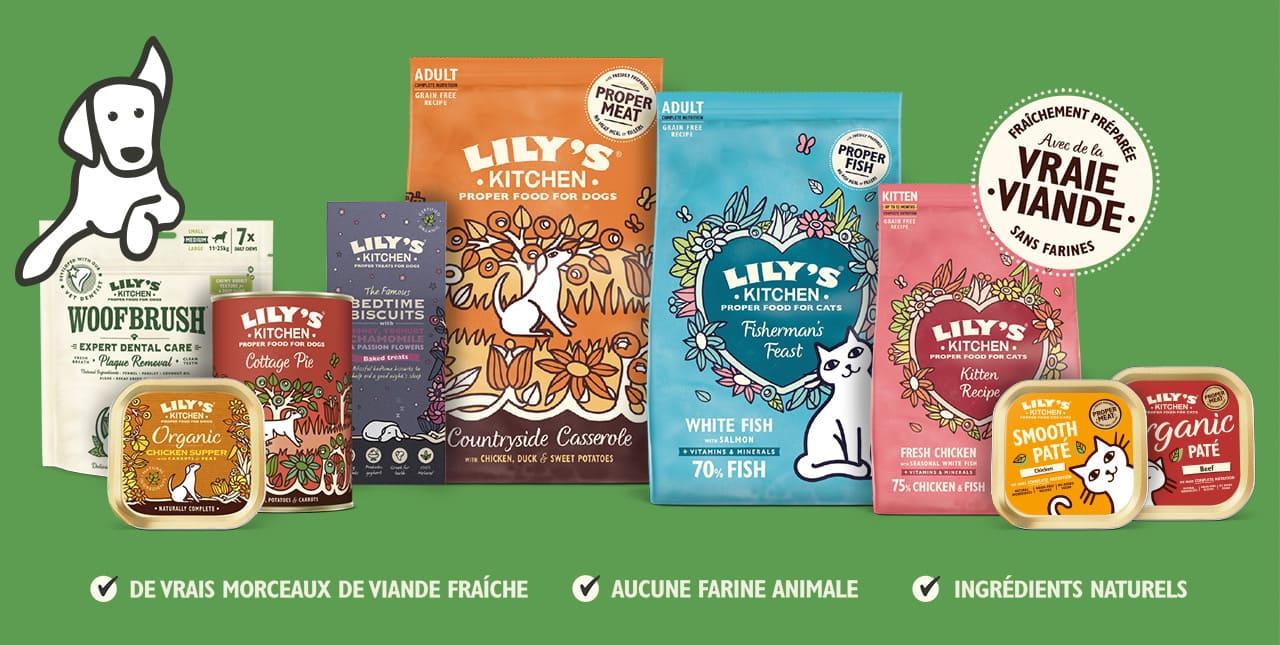 Lily's Kitchen : alimentation naturelle pour chien et chat