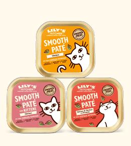 Lily's Kitchen : pâtées naturelles pour chat