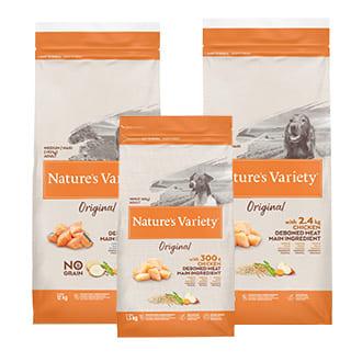 Nature's Variety : croquettes pour chien