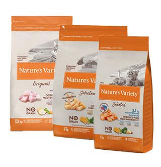 Nature's Variety : les croquettes sans céréales pour chat