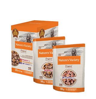 Nature's Variety : les pâtées sans céréales pour chien