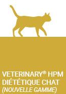 Nouvelle gamme de croquettes diététiques, VETERINARY HPM® Chat