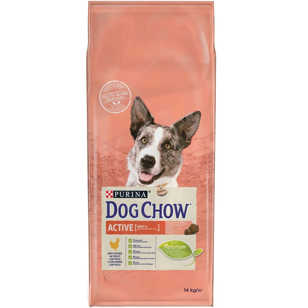 Purina Dog Chow Chien Adulte Active Poulet