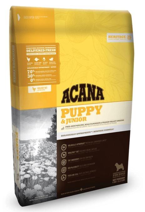 Acana Heritage Chien Puppy & Junior