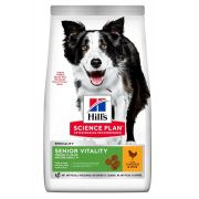Hill's Science Plan Chien Mature Adult 7+ Senior Vitality Medium Poulet