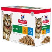 Hill's Science Plan Chat Kitten Multipack, 12 x 85 g