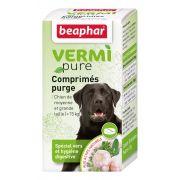 Beaphar VERMIpure Comprimés Purge spécial vers et hygiène digestive Chien (>15kg)