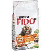 FIDO Croq Mix Chien Senior - Viandes et Légumes, sac