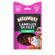 Meowee! Chat Lamelles de Filet Thon, sachet