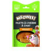 Meowee! Chat Filet Poulet et Herbe à Chat, sachet