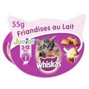 Whiskas friandises au lait junior, boîte 55 g