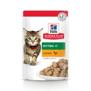 Hill's Science Plan Chat Kitten Poulet - Sachets 85 g