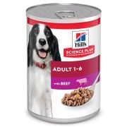 Hill's Science Plan Chien Adult Boeuf, boîte 370 g
