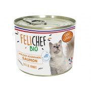Felichef Chat Mousse Sans Céréales Saumon - Boîte