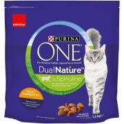 Purina One DualNature pour Chat adulte, goût spiruline et poulet