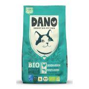 Croquettes Dano bio pour chat, au poulet et au poisson - sac de 800 g
