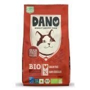 Croquettes Dano pour chat au poulet, bio et sans céréales - sac de 800 g