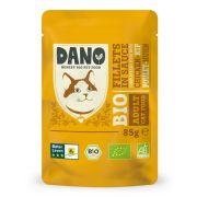 Sachet Dano Bio pour chat, filets de poulet