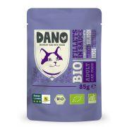 Sachet Dano Bio filets de poulet et dinde pour chat