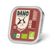 Dano Chat Barquette Bio Bœuf