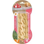8in1 Delights Twisted Sticks Porc