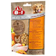 8in1 Freeze Dried Poulet/Carottes