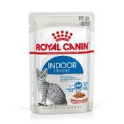 Royal Canin Chat Indoor Sterilised en sauce, sachet