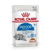 Royal Canin Chat Indoor Sterilised +7 en sauce, sachet