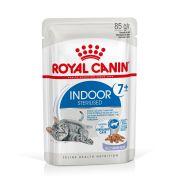 Royal Canin Chat Indoor Sterilised +7 en gelée, sachet