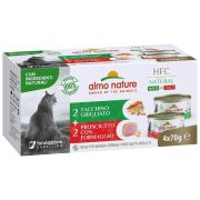Almo Nature Chat HFC Multipack Grain Free Jambon Dinde
