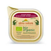 Almo Nature Chien Adult Bio Organic Boeuf et Légumes - Barquette