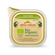 Almo Nature Chien Adult Bio Organic Poulet et Légumes - Barquette