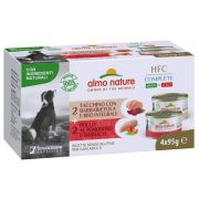 Almo Nature Chien HFC Multipack Poulet Dinde