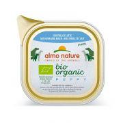 Almo Nature Chien Puppy Bio Organic Avec Poulet Et Lait - Barquette