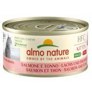 Almo Nature Kitten HFC Saumon Thon - Boîte