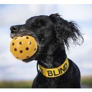 Balle Trixie à trous pour chiens malvoyants ou aveugles