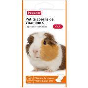 Beaphar Petits Cœurs de Vitamine C pour Cochon d'Inde